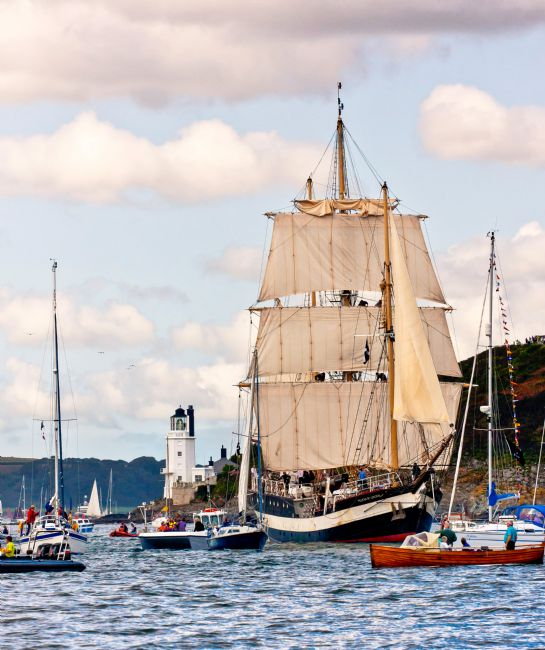 Roger Hollingsworth | Tall Ships race from Falmouth 2008