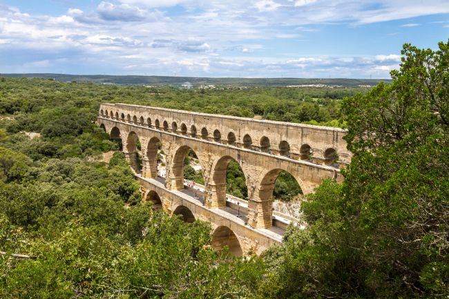 Roger Hollingsworth | Pont du Gard, France