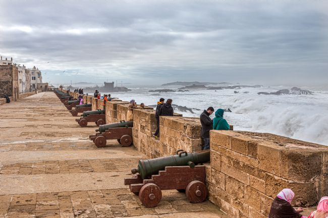 Roger Hollingsworth | Essaouira sea front, Morocco