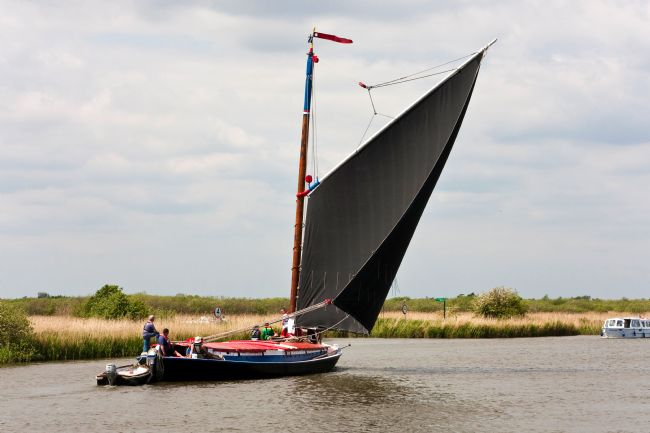 Roger Hollingsworth | Norfolk Wherry trust - Albion