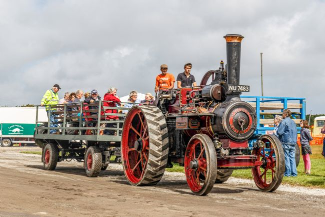 Roger Hollingsworth | Cornish Steam Society, Cornish Steam & Country Fair, Stithians.