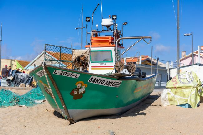 Roger Hollingsworth | Portugese Inshore Fishing Boat