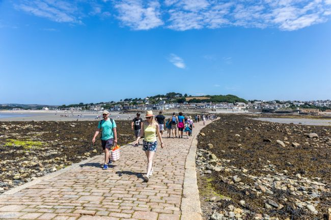 Roger Hollingsworth | St Michaels Mount Causeway at low tide