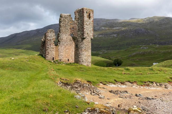 Roger Hollingsworth | Ardvreck Castle, Scotland