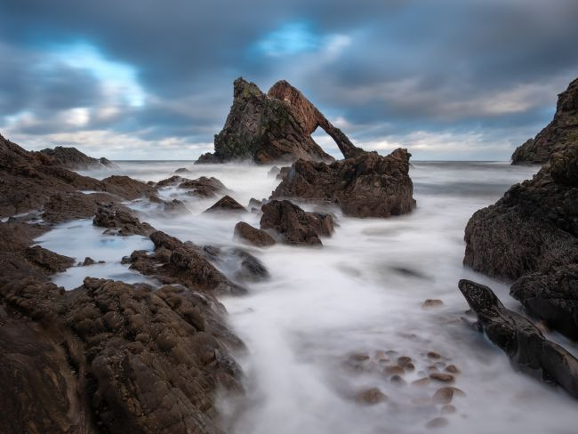 Thomas Dickson | Bow Fiddle Rock, Scotland.