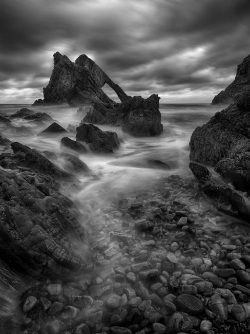 Thomas Dickson | Bow Fiddle Rock, Portknockie, Scotland.