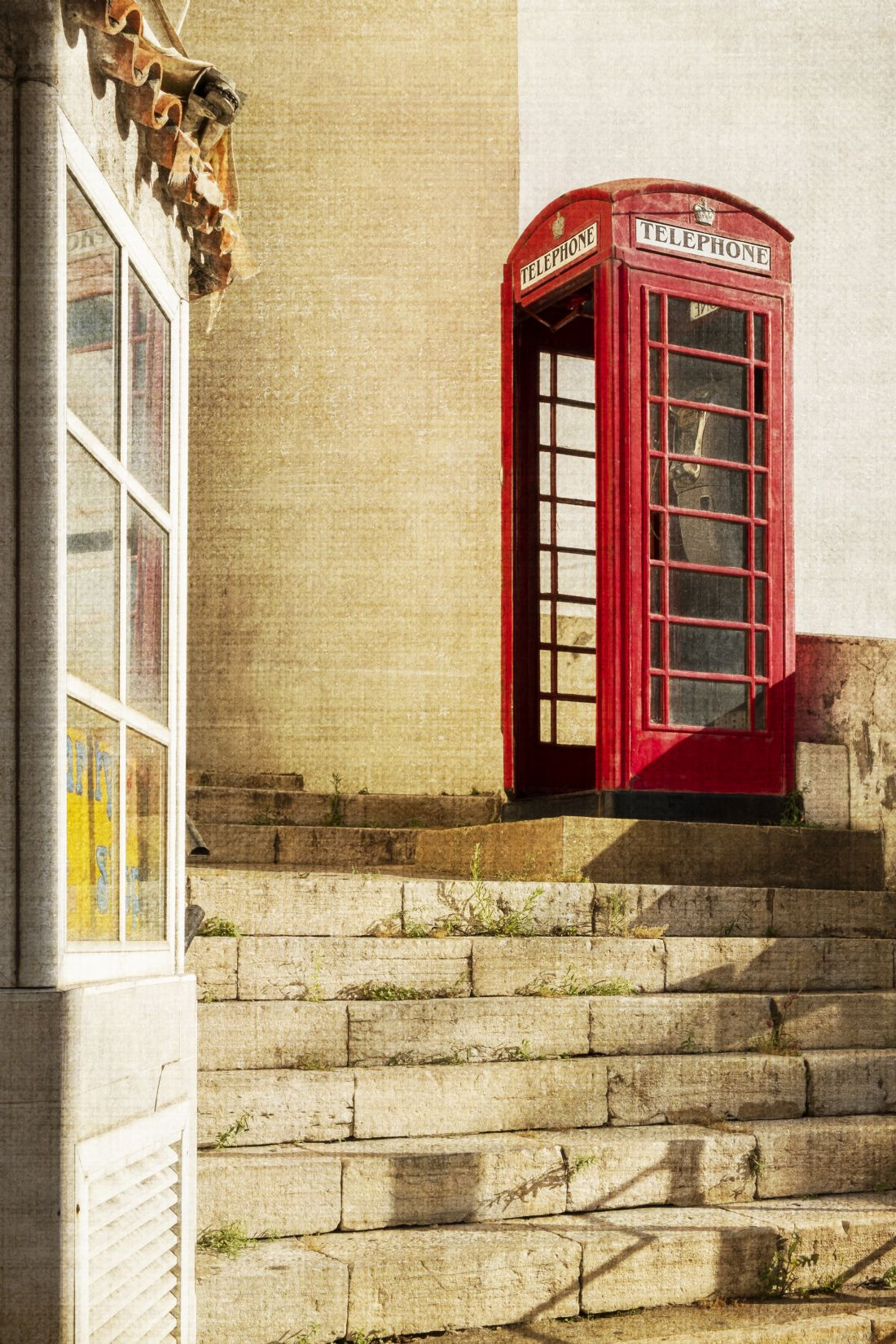 Rina Devine | Red phone box