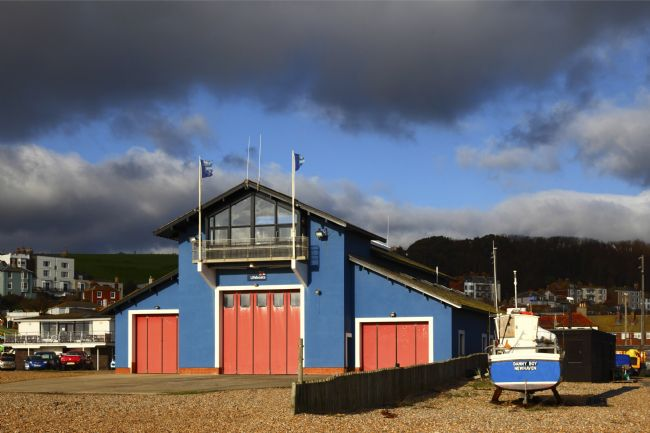 James Brunker | Lifeboat Station and fishing boat Hastings