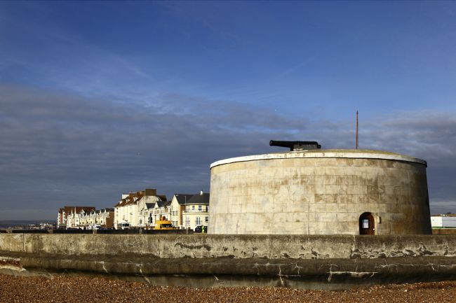 James Brunker | Martello Tower Seaford East Sussex