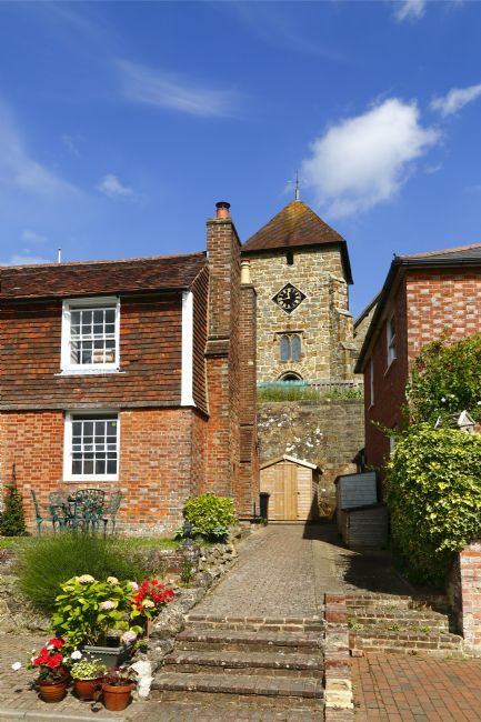 James Brunker | St Lawrence church and cottages Bidborough Kent
