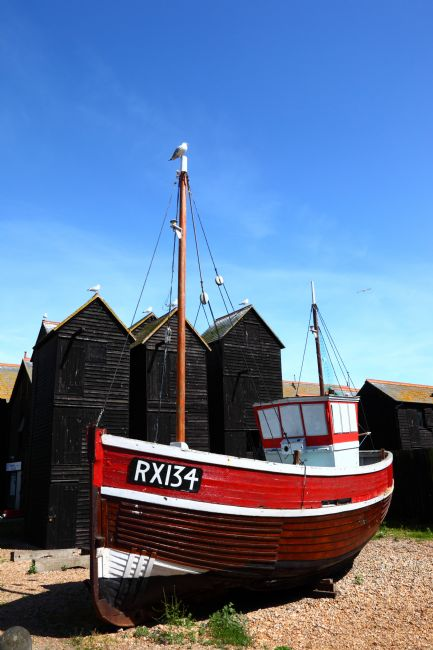James Brunker | Traditional Fishing Boat and Historic Net Shops Hastings