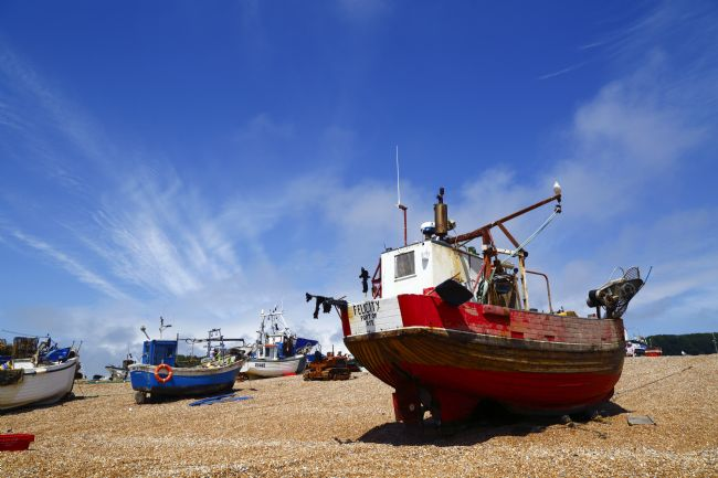 James Brunker | Fishing Boats on The Stade Hastings East Sussex