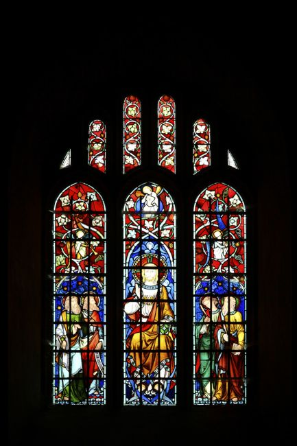 James Brunker | Stained Glass Window Chiddingstone Kent