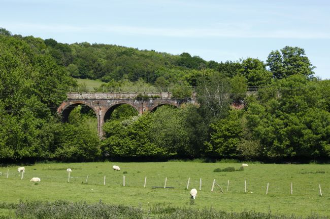 James Brunker | Colebrook or Southborough Viaduct in Summer Kent
