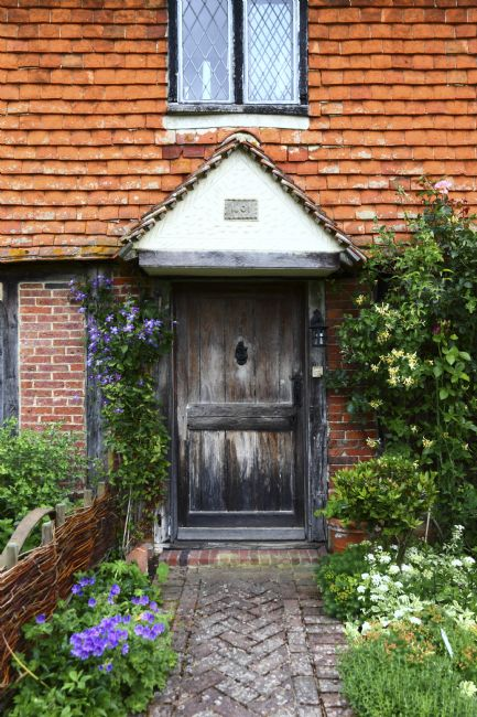 James Brunker | Front Door of Historic Cottage Chiddingstone Kent