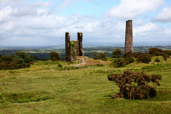 James Brunker | Remains of Phoenix United Mine Bodmin Moor Cornwall