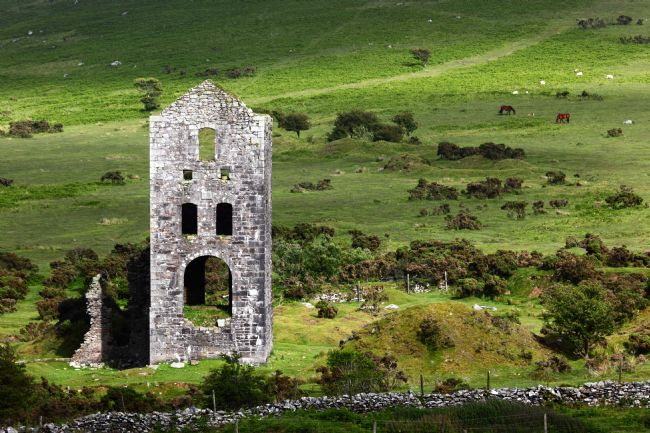 James Brunker | Bellingham Engine House Ruins Bodmin Moor Cornwall
