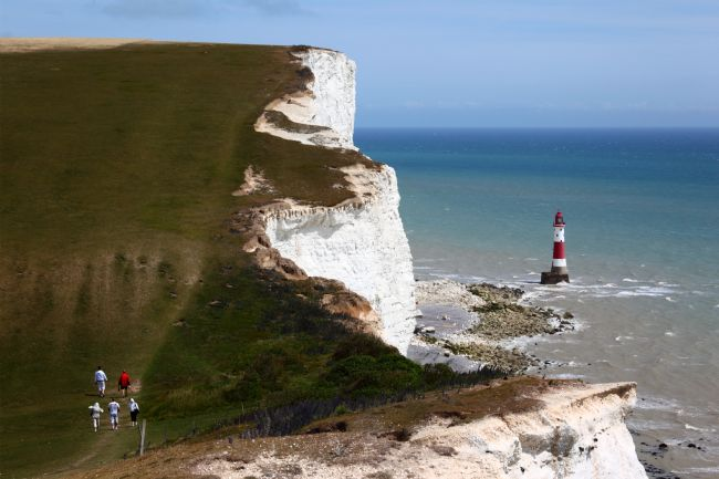 James Brunker | Walking the South Downs Way Towards Beachy Head East Sussex