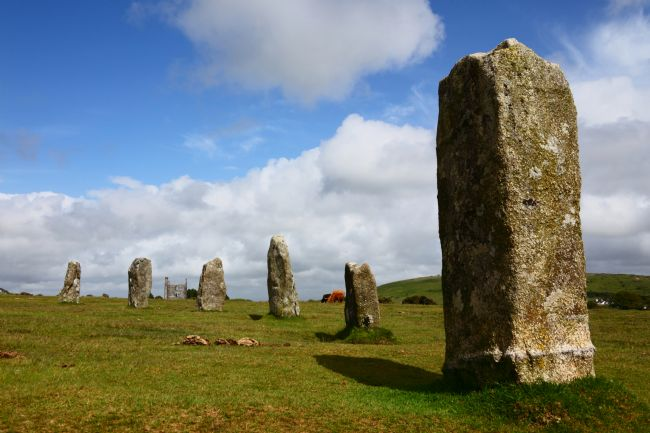 James Brunker | The Hurlers Stone Circle Bodmin Moor Cornwall