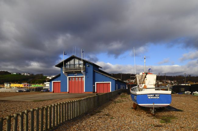 James Brunker | Fishing boat and Lifeboat Station Hastings