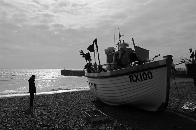 James Brunker | Walk on The Stade Hastings East Sussex