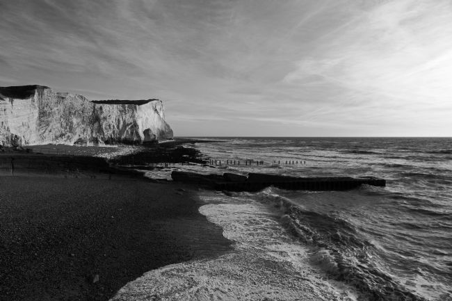 James Brunker | Seaford Head Black and White East Sussex