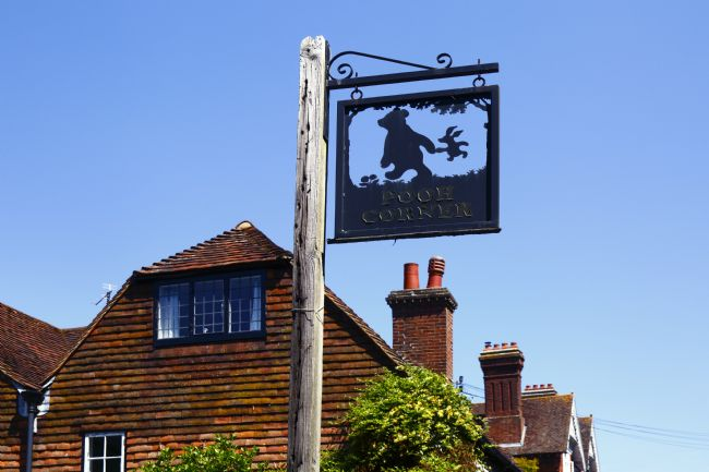 James Brunker | Pooh Corner Sign Hartfield East Sussex