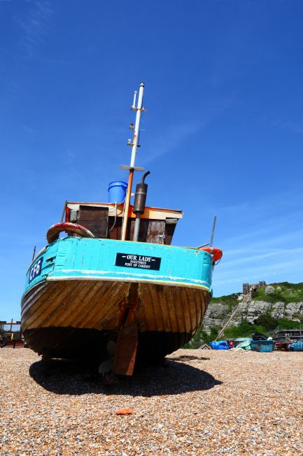 James Brunker | Our Lady of Hastings Wooden Fishing Boat