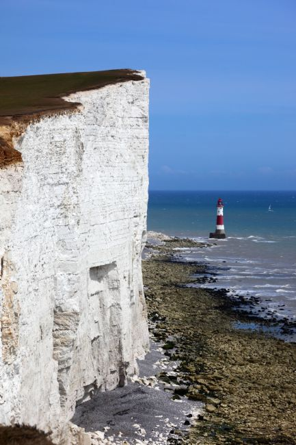 James Brunker | Sheer Chalk Cliffs near Beachy Head Lighthouse East Sussex