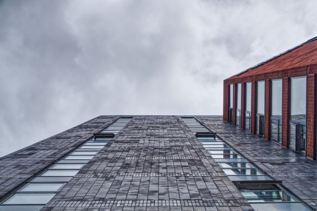 Liam OMalley | Looking Up The Cargo Building