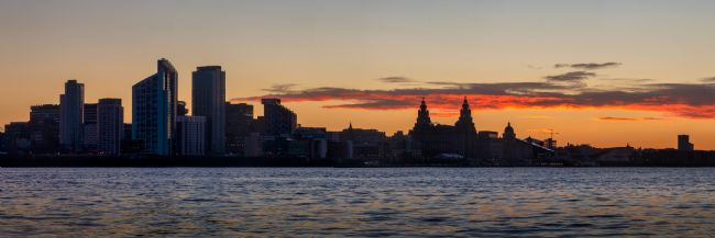 Liam OMalley | Day Breaks over Liverpool