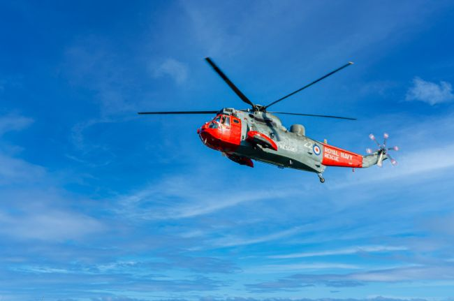 David Martin | Royal Navy Rescue Helicopter