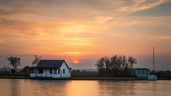 David Powley | River Thurne Sunset