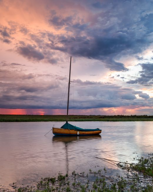 David Powley | Blakeney stormy sunset