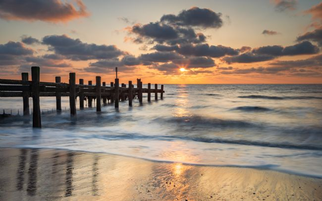 David Powley | Gorleston-on-Sea Norfolk Beach Sunrise