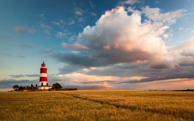 David Powley | Evening colour over Happisburgh Lighthouse
