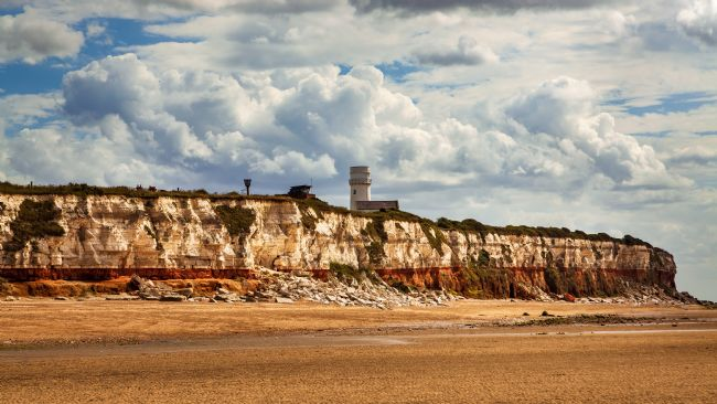 David Powley | Clouds over the cliffs of Hunstanton