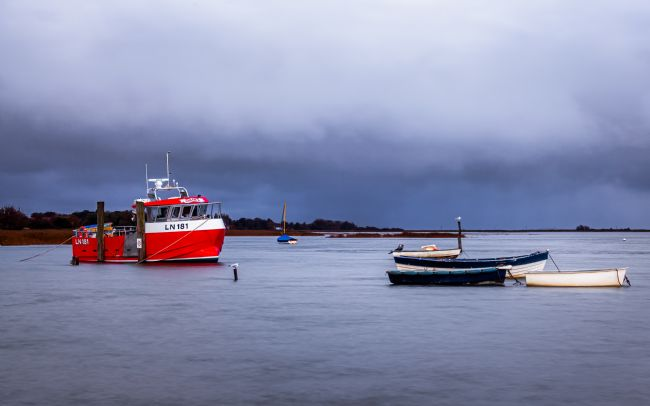 David Powley | Brancaster Staithe at high tide