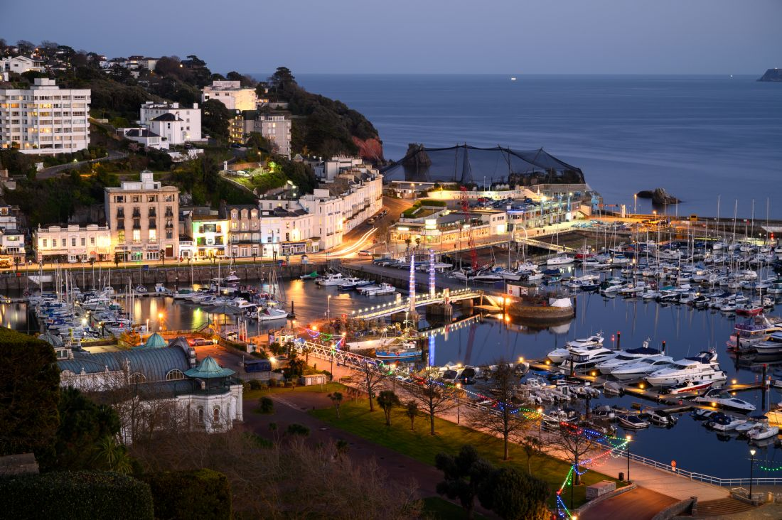 John Fowler |  Torquay By Twilight