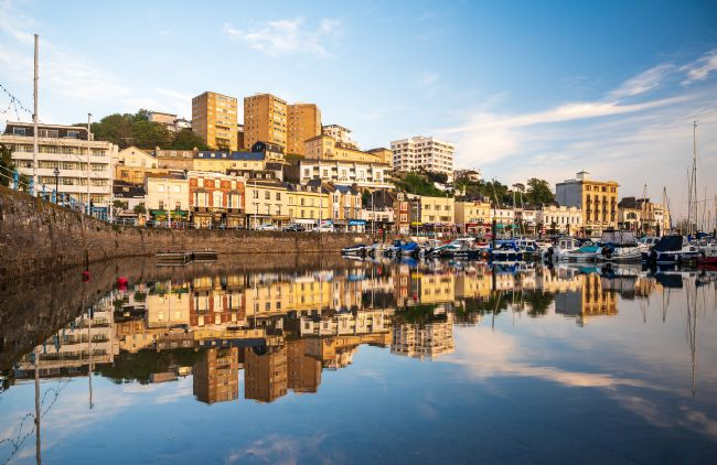 John Fowler |  Torquay Harbour Reflections
