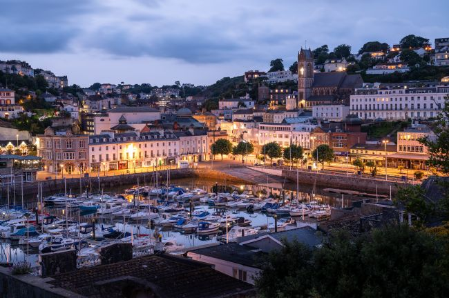 John Fowler | Torquay Harbour At Twilight