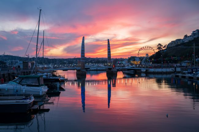 John Fowler | Torquay Harbour Sunset