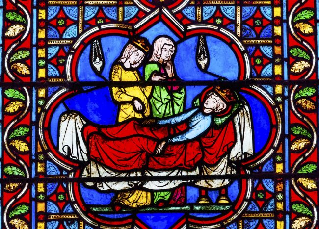 William Perry | Death King Stained Glass Notre Dame