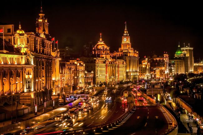 William Perry | The Bund in Shanghai China