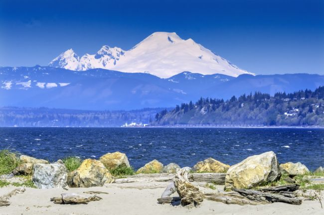 William Perry | Mount Baker Bracketts Landing North Beach Park Edmonds Washingto