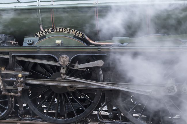 Sue Wood | Whhels of the steam train