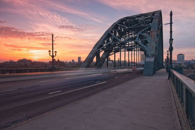 Rob Cole | Newcastle Tyne Bridge Sunset