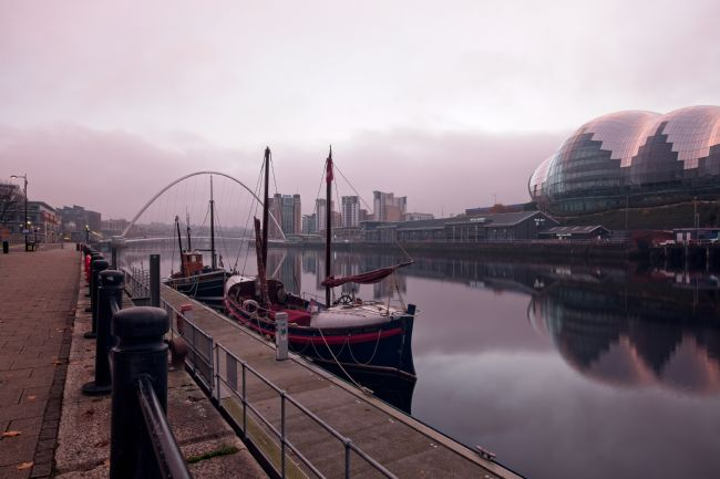 Rob Cole | Newcastle Quayside Dawn