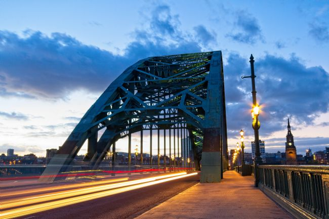Robert Cole | Tyne Bridge Traffic Trails, Newcastle, Tyne and Wear
