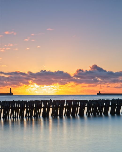 Rob Cole | Mouth of the Tyne Sunrise